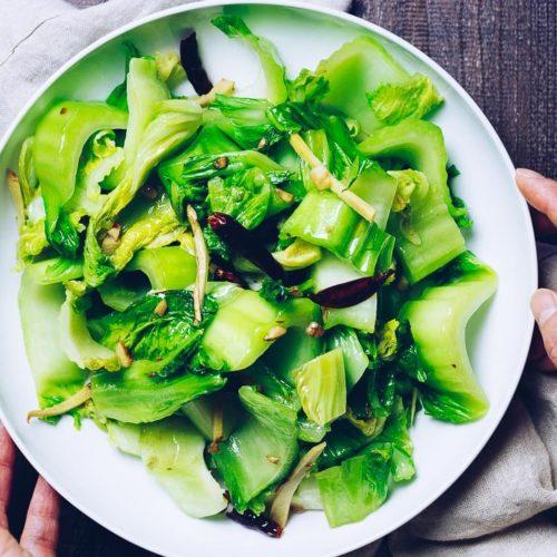 Chinese Mustard Green Recipe (Paleo, Whole30, Keto) | I Heart Umami®