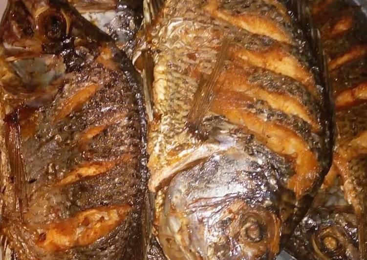 Deep fried Tilapia Recipe by Martin Omollo - Cookpad