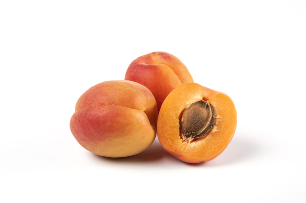 Apricot fruits and vegetables for birds