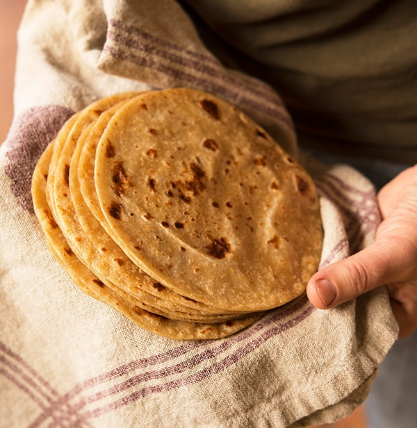 Homemade Flour Tortillas - How to Make Homemade Flour Tortillas