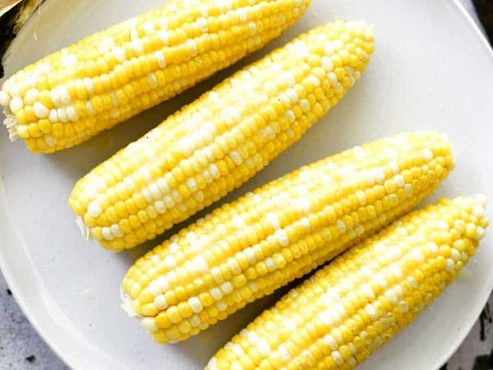 How To Grill Corn On The Cob With The Husks - The Gunny Sack